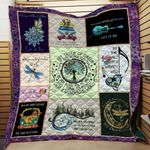 Let It Be Hippie Blanket TH1707 Quilt
