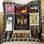 Love Alpaca Blanket TH1707 Quilt