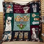 Alpacaholic Blanket TH1707 Quilt