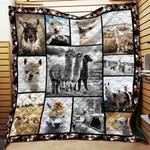 Cute Alpaca Blanket TH1707 Quilt