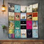 Jane Austen Books Blanket TH1707 Quilt