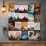 Colleen Mccullough Books Blanket TH1707 Quilt