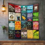 Ernest Hemingway Books Blanket TH1707 Quilt