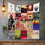 Anthony Burgess Books Blanket TH1707 Quilt