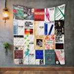 AYN RAND Books Blanket TH1707 Quilt