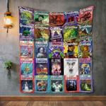 R. L. Stine Books Blanket TH1707 Quilt
