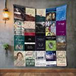 Emily Bront Books Blanket TH1707 Quilt