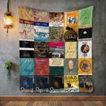 Homer Books Blanket TH1707 Quilt