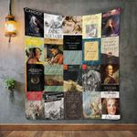 Voltaire Books Blanket TH1707 Quilt