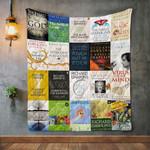 Richard Dawkins Books Blanket TH1707 Quilt