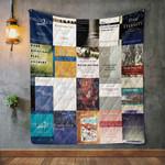 William Lane Craig Books Blanket TH1707 Quilt