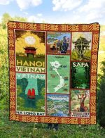 Vietnam Blanket TH1607 Quilt