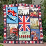 United Kingdom 4 Blanket TH1607 Quilt