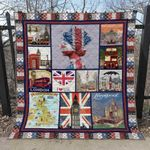 United Kingdom 3 Blanket TH1607 Quilt
