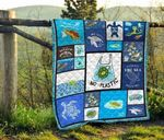 Turtle 10 Blanket TH1607 Quilt