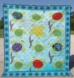 Turtle 1 Blanket TH1607 Quilt