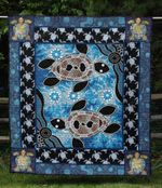 Turtle 2 Blanket TH1607 Quilt