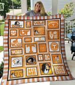 Tennessee Volunteers 1 Blanket TH1607 Quilt