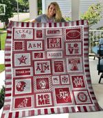Texas A M Aggies 1 Blanket TH1607 Quilt