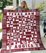 Texas A M Aggies Blanket TH1607 Quilt