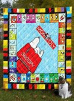 Snoopy 2 Blanket TH1607 Quilt