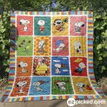 Snoopy 3 Blanket TH1607 Quilt