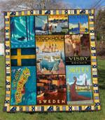 Sweden 2 Blanket TH1607 Quilt