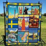 Sweden 4 Blanket TH1607 Quilt