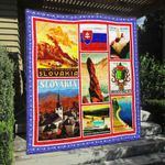 Slovakia 2 Blanket TH1607 Quilt
