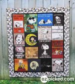 Snoopy 1 Blanket TH1607 Quilt