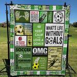 Soccer 1 Blanket TH1607 Quilt