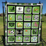 Soccer 2 Blanket TH1607 Quilt