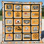 Soccer 3 Blanket TH1607 Quilt