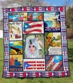 Puerto Rico 1 Blanket TH1607 Quilt