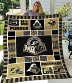 Purdue Boilermakers Blanket TH1607 Quilt