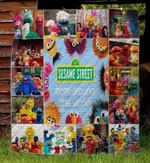 Sesame Street 3 Blanket TH1607 Quilt
