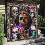 Skull 1 Blanket TH1607 Quilt