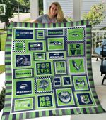 Seattle Seahawks Blanket TH1607 Quilt