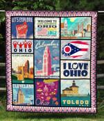 Ohio Blanket TH1607 Quilt
