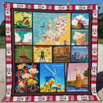 Netherlands 2 Blanket TH1607 Quilt