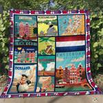Netherlands 4 Blanket TH1607 Quilt