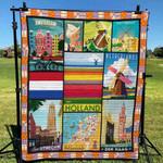 Netherlands 5 Blanket TH1607 Quilt