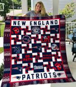 New England Patriots 1 Blanket TH1607 Quilt