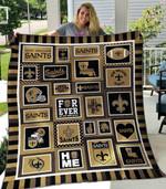New Orleans Saints Blanket TH1607 Quilt