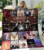 Maroon 5 Blanket TH1607 Quilt