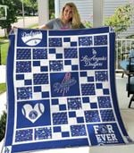 Los Angeles Dodgers 1 Blanket TH1607 Quilt