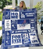Los Angeles Dodgers Blanket TH1607 Quilt