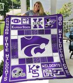 Kansas State Wildcats Blanket TH1607 Quilt