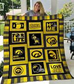 Iowa Hawkeyes 1 Blanket TH1607 Quilt