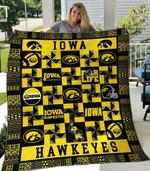 Iowa Hawkeyes Blanket TH1607 Quilt